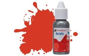 Humbrol DB0174 Farba akrylowa 174 Signal Red - Satin