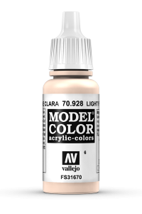 Vallejo 70928 Model Color 70928 6 Light Flesh