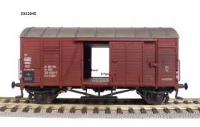Exact-Train EX22045 Wagon towarowy kryty Oppeln .Glm (Kddt) 21 51 102 4122-5, PKP, Ep. IV (brudzony)