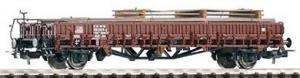 Piko 54970 Wagon platforma klm 441 z ładunkiem, DB, Ep. IV