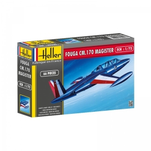 Heller 80220 Fouga Magister CM 170