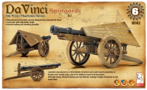 Academy 18142 da Vinci - Spingarda
