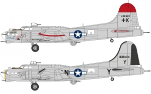 Airfix A08017A Boeing B17G Flying Fortress - New Schemes - 1:72