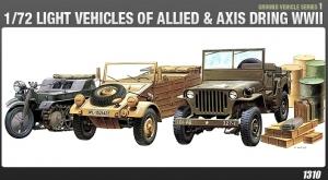 Jeep + Kettenkrad + Kubelwagen