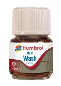 Humbrol AV0210 Enamel Wash Rust 28ml