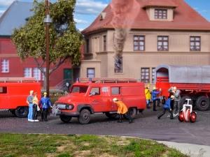 Kibri 18255 H0 Ford FK 2500 straż pożarna