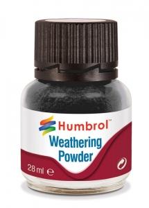 Humbrol AV0001 Pigment Weathering Powder 28 ml - Black AV0001