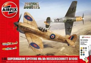 Airfix A50160 Dogfight Doubles - Supermarine Spitfire MkVb + Messerschmitt BF109E 1:48