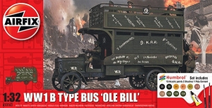 Airfix A50163 Gift Set - WWI Ole Bill Bus 1:32