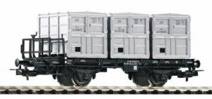Wagon platforma Lb 4010, DR , Ep. IV