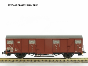 Exact-Train EX20407 Wagon towarowy kryty Gbs 254 uv, DB, Ep. IV