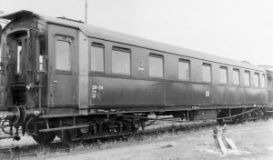 Wagon pasażerski B4ü, DR, Ep. III