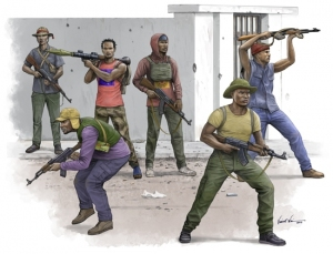Trumpeter 00438 Figurki - African freedom fighters - 1:35