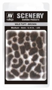 Vallejo SC411 Wild Tuft - Brown