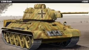 Academy 13502 Czołg German T-34/76747 (r) 1:35