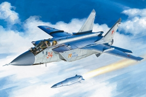 Hobby Boss 81770 MiG-31BM z rakietą KH-47M2 - 1:48
