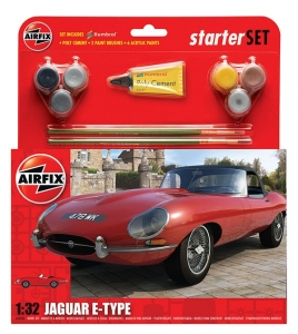 Starter Set - Jaguar E Type 1:32