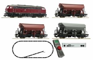 Fleischmann 631681 Zestaw startowy BR 218 towarowy (cyfrowy z21 start)