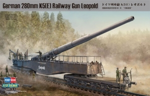 Hobby Boss 82903 German 280mm K5(E) Railway Gun Leopold - 1:72