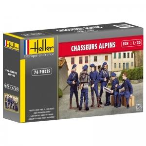 Heller 81223 Figurki - Chasseurs Alpins - 1:35