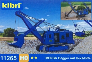 Koparka linowa przedsiębierna Menck