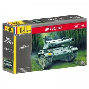 Heller 81137 Czołg AMX 30/105 - 1:35