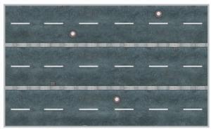 Heki 12051 Citiline - Ulica - odcinki proste