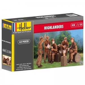 Heller 81221 Figurki - Highlanders - 1:35