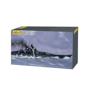 Heller 81078 Pancernik Bismarck - 1:400