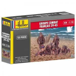 Heller 81224 Figurki - Groupe Combat Francja 1939-1945 - 1:35
