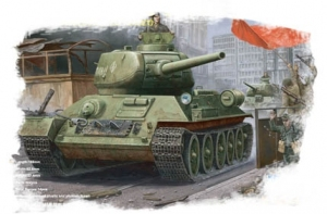 Hobby Boss 84809 Russian T-34/85 (model 1944 angle-jointed turret) Tank - 1:48