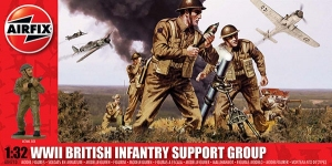 Airfix A04710 WWII British Infantry Support Set 1:32