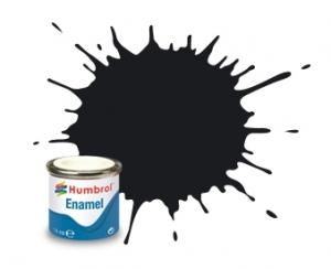 Farba olejna 85 Coal Black - Satin (Humbrol 85)