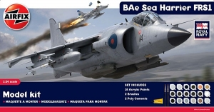 Airfix A50010 Gift Set - Royal Navy Bae Sea Harrier FRS1 1:24