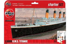 Airfix A55314 Starter Set - RMS Titanic - 1:1000
