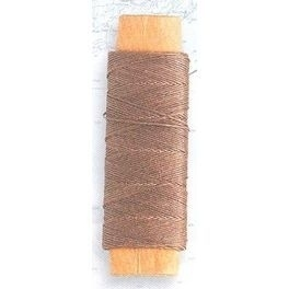Lina bawełniana brązowa 0,15 mm, 40 m