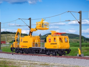 Kibri 16082 H0 Pociąg pogotowia sieciowego P&T MTW 100.083/1