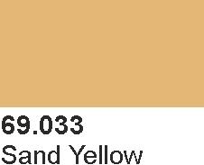 Mecha Color 69033 Sand Yellow