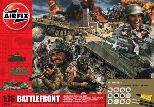 Airfix A50009A Gift Set - D-Day 75th Anniversary Battlefront - 1:76