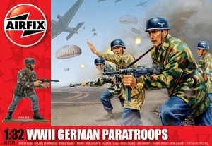 WWII German Paratroops 1:32