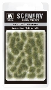 Vallejo SC415 Wild Tuft - Dry Green