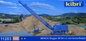 Kibri 11283 Koparka linowa Menck M154 LC