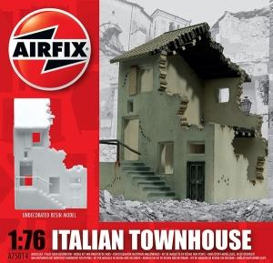 Ruiny budynku WWII - Dom miejski - Włochy 1:72