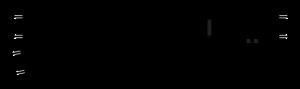 Zwrotnica lewa długa 245 mm, R852 mm, 11,25st.