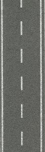 Ulica - Jezdnia jednopasmowa, betonowa, skala N