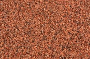 Szuter 1,0-2,0 mm, 200 g - czerwono-brązowy