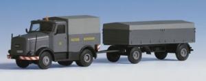 Kibri 13560 Ciągnik Kaelble KW 632 ZB z przyczepą