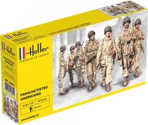 Heller 49651 Figurki - Spadochroniarze amerykańscy - 1:72