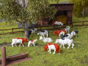 Kibri 38152 H0 Figurki - Krowy