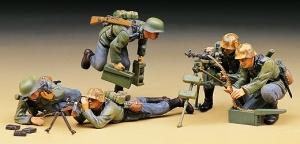 Figurki - Niemiecka obsługa karabinu